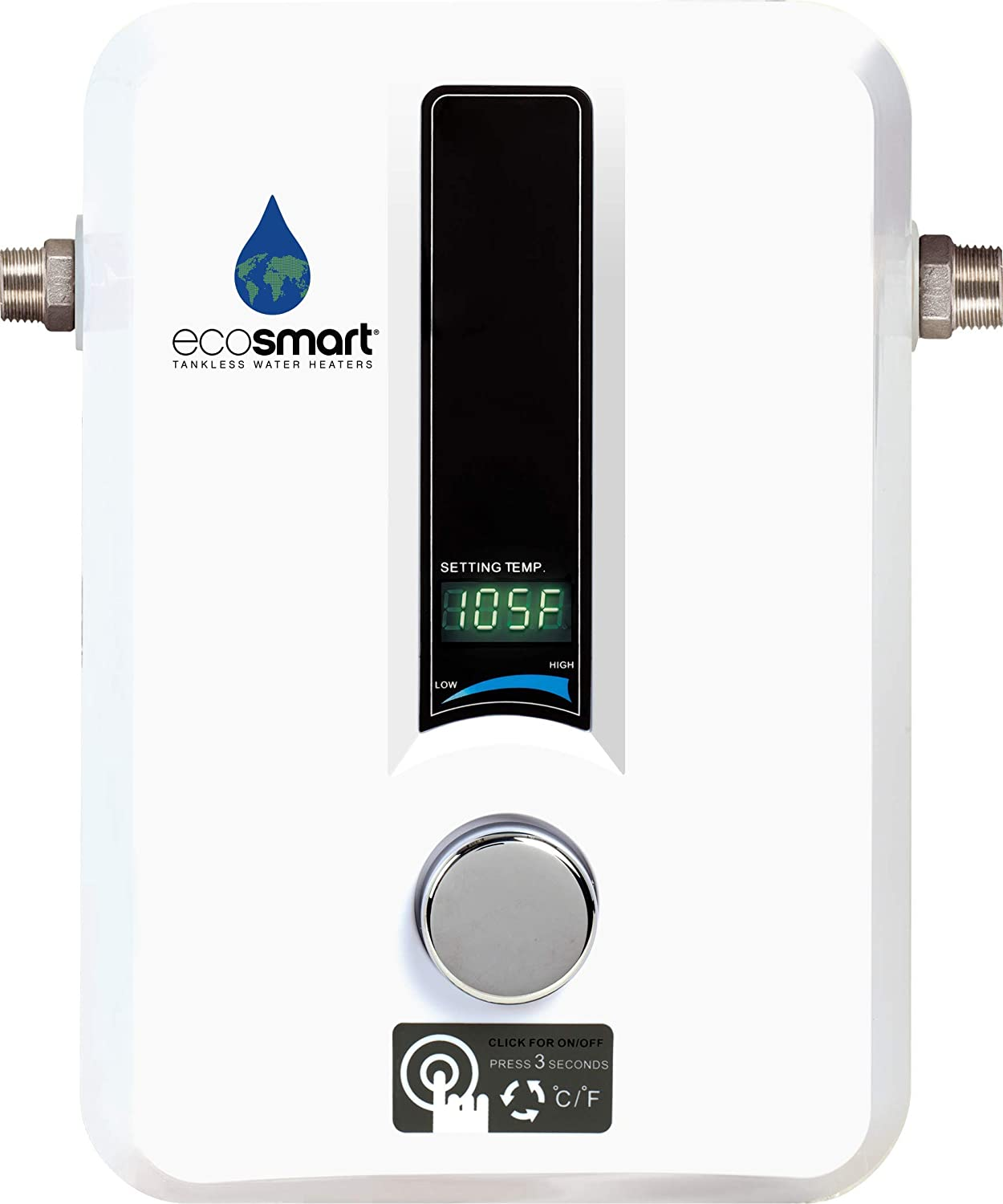 ECO 11 Electric Tankless Water Heater, Ecosmart, Ecosmart ECO 11, Tankless Water Heater, Water Heater
